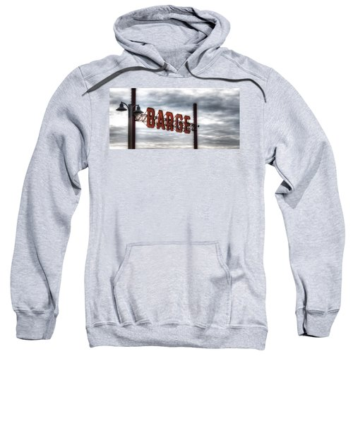 by The Barge Sweatshirt