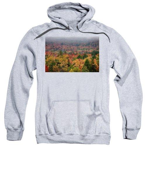 Cabin In Vermont Fall Colors Sweatshirt