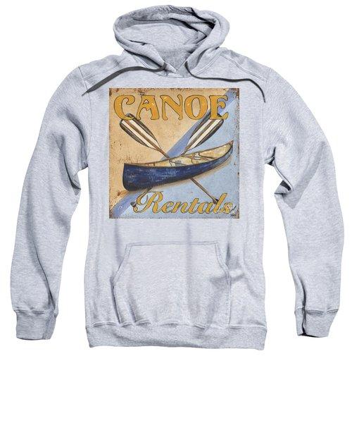 Canoe Rentals Sweatshirt