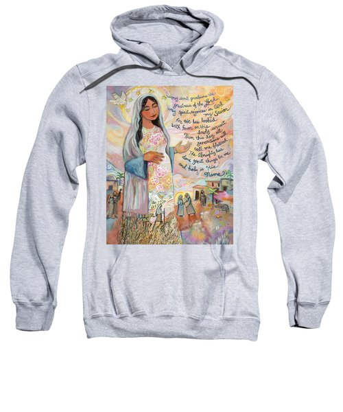 Canticle Of Mary Sweatshirt