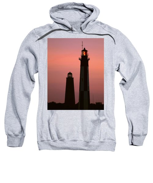 Cape Henry Lighthouses  Sweatshirt