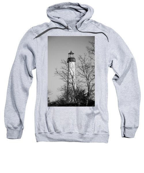 Cape May Light B/w Sweatshirt