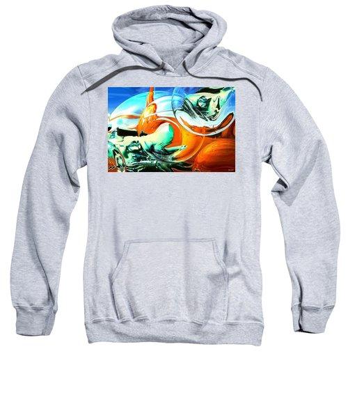 Car Fandango - Modern Art Sweatshirt