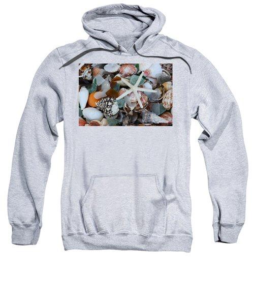 Caribbean Shells Sweatshirt