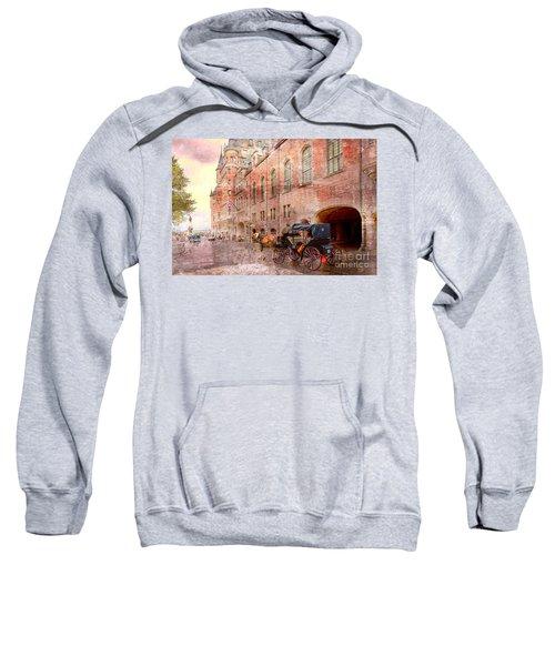 Carriage Ride In Canada 07 Sweatshirt