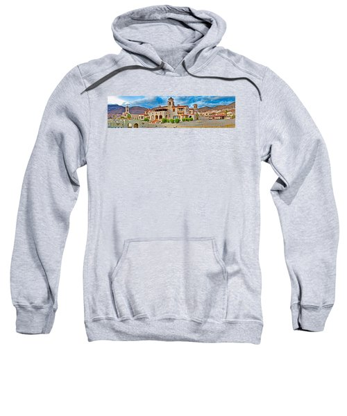 Castle In A Desert, Scottys Castle Sweatshirt by Panoramic Images