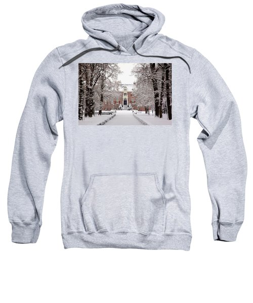 Castle In Winter Dress  Sweatshirt