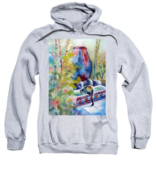 Cat Drinking Fountain Sweatshirt