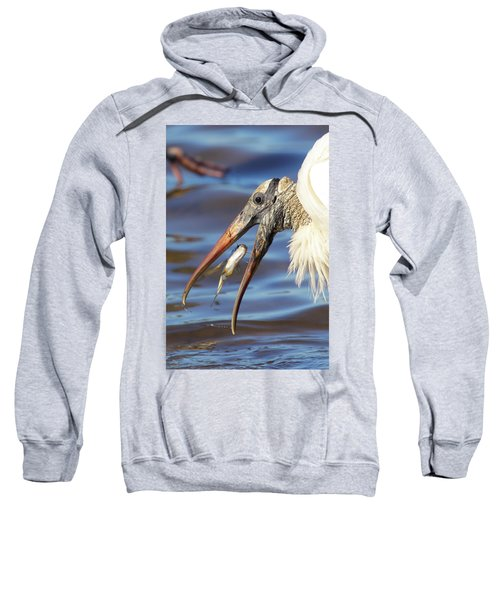 Catch Of The Day Sweatshirt by Bruce J Robinson