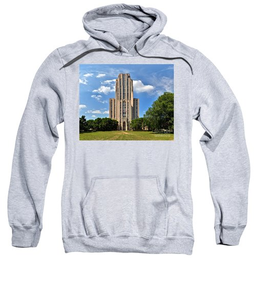 Cathedral Of Learning Pittsburgh Pa Sweatshirt