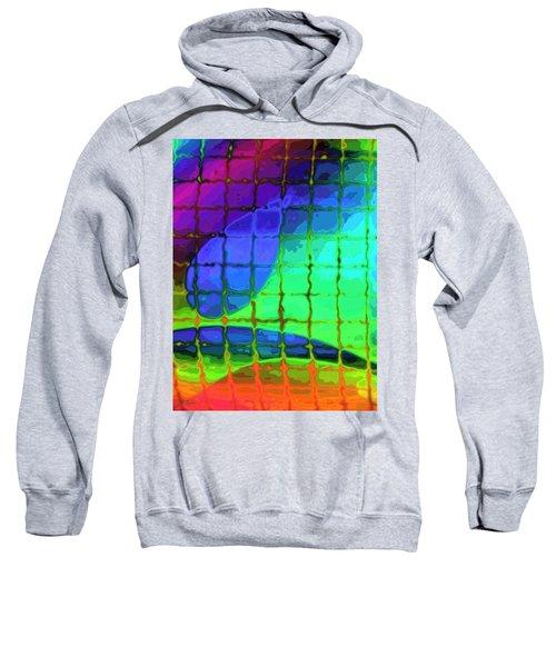 Caught In My Color Net On Venus Sweatshirt