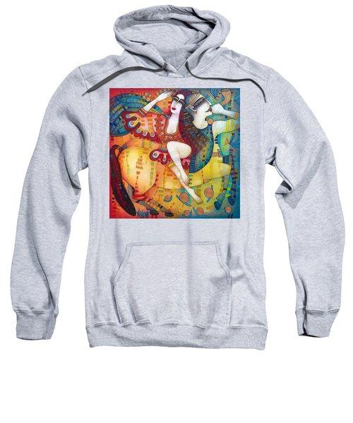 Centaur In Love Sweatshirt by Albena Vatcheva