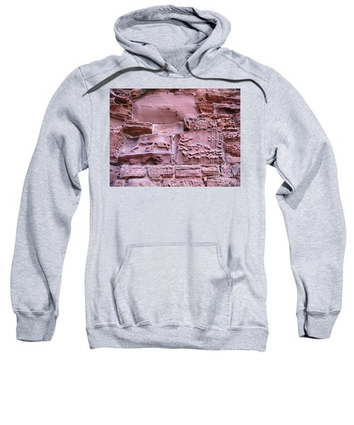Sweatshirt featuring the photograph Centuries Of Erosion by Denise Railey