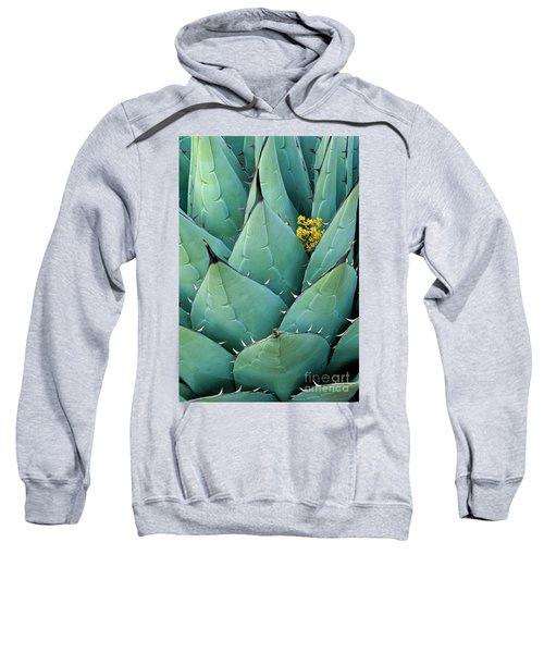 Century Plant And Tiny Blossom Sweatshirt