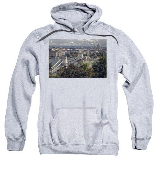 Chain Bridge Gresham Palace And Basilica Sweatshirt
