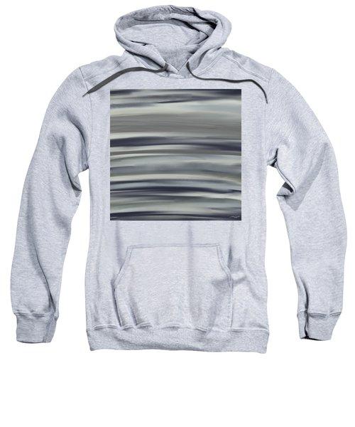 Charcoal And Blue Sweatshirt