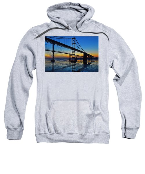 Chesapeake Bay Bridge Reflections Sweatshirt