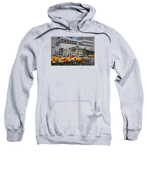 Chicago At Spring Time Sweatshirt