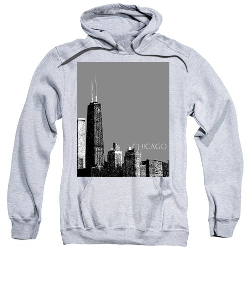 Chicago Hancock Building - Pewter Sweatshirt