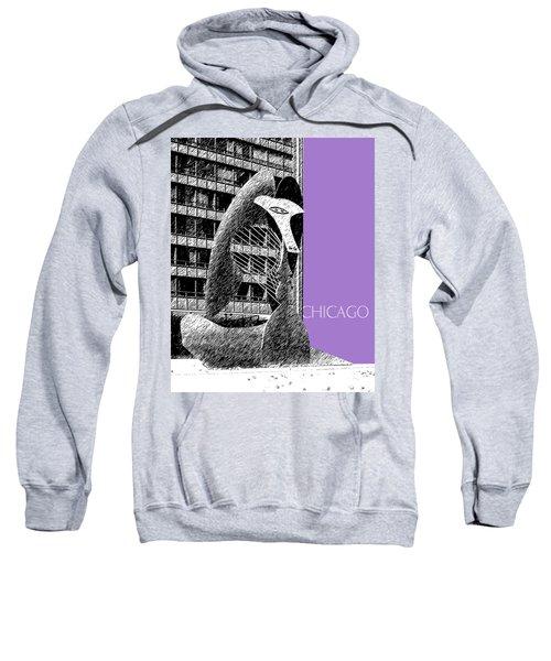 Chicago Pablo Picasso - Violet Sweatshirt