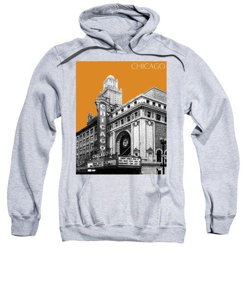 Chicago Theater - Dark Orange Sweatshirt
