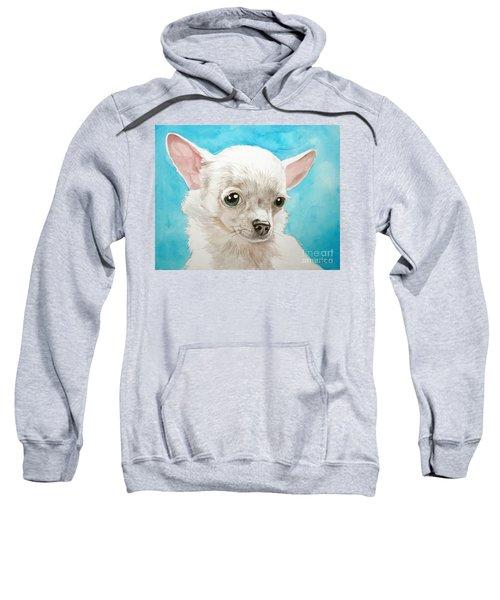 Chihuahua Dog White Sweatshirt