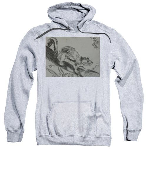 Chipmunk On The Prowl Sweatshirt