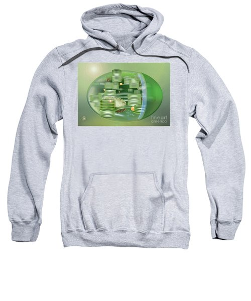 Chloroplast - Basis Of Life - Plant Cell Biology - Chloroplasts Anatomy - Chloroplasts Structure Sweatshirt