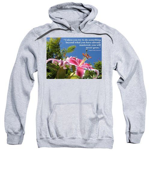 Choose Your Quote Choose Your Picture 18 Sweatshirt