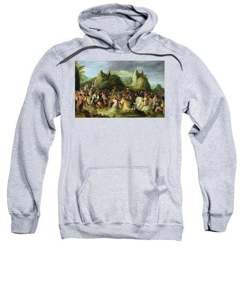 Christ On The Road To Calvary Sweatshirt