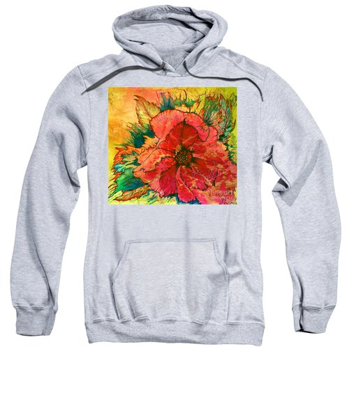 Christmas Flower Sweatshirt