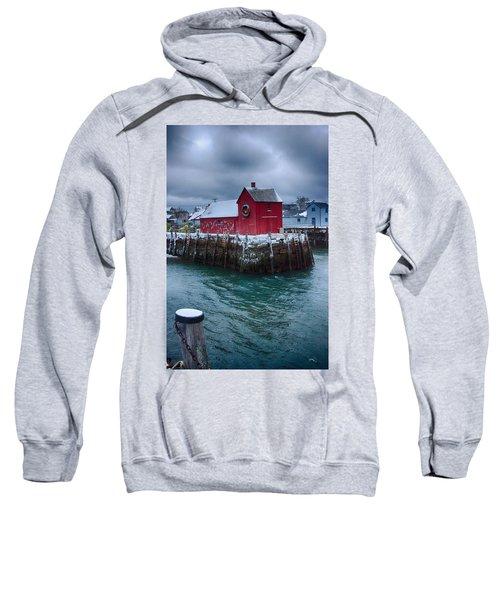 Christmas In Rockport Massachusetts Sweatshirt