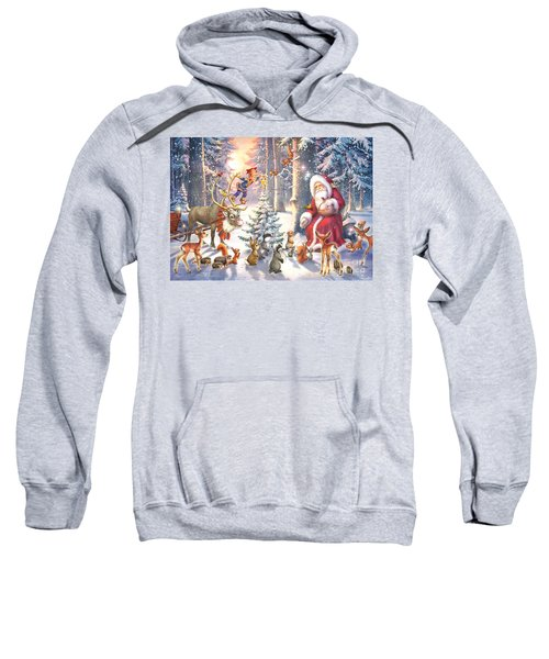 Christmas In The Forest Sweatshirt