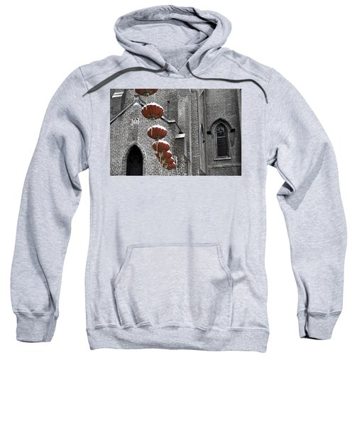 Church Lanterns Sweatshirt