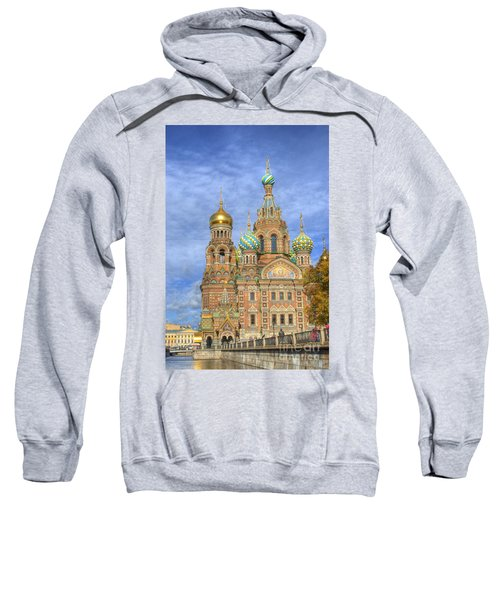 Church Of The Saviour On Spilled Blood. St. Petersburg. Russia Sweatshirt
