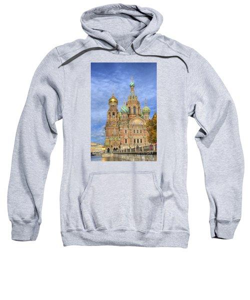 Church Of The Saviour On Spilled Blood. St. Petersburg. Russia Sweatshirt