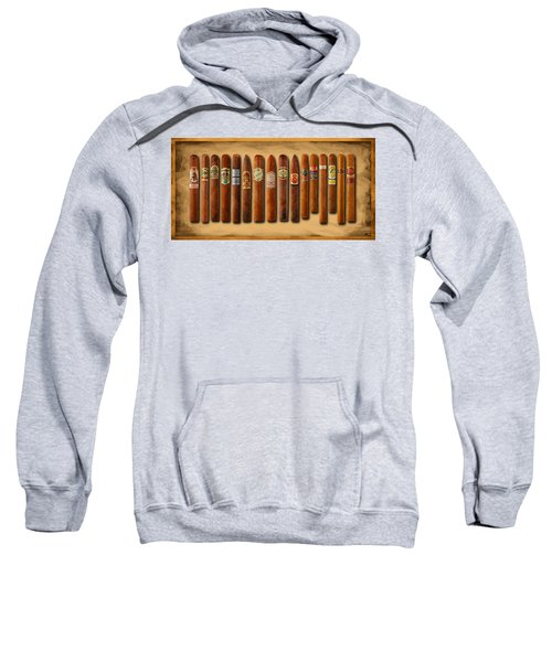 Cigar Sampler Painting Sweatshirt