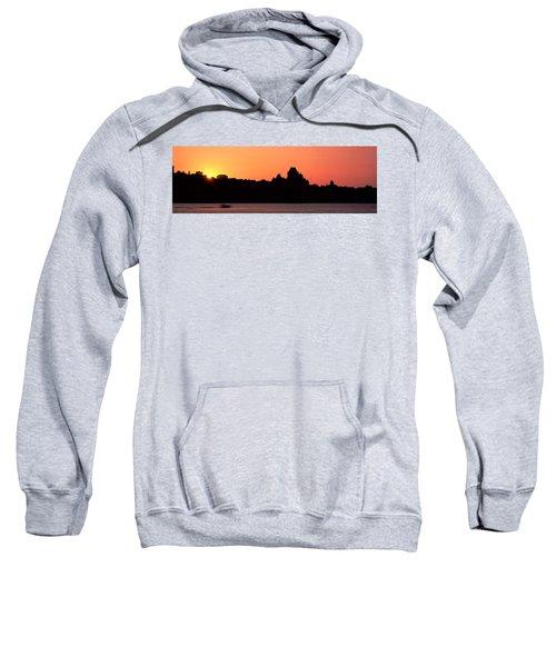 City At Sunset, Chateau Frontenac Sweatshirt