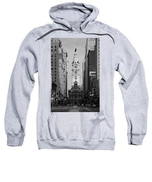 City Hall B/w Sweatshirt