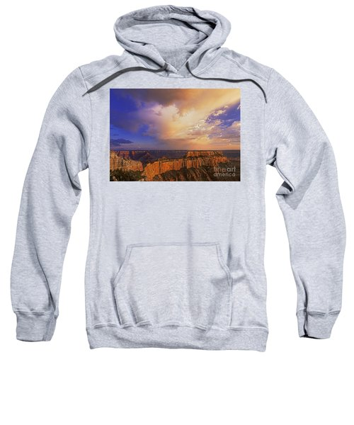 Clearing Storm Cape Royal North Rim Grand Canyon Np Arizona Sweatshirt