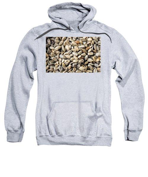 Close-up Of Sunflower Seeds Sweatshirt