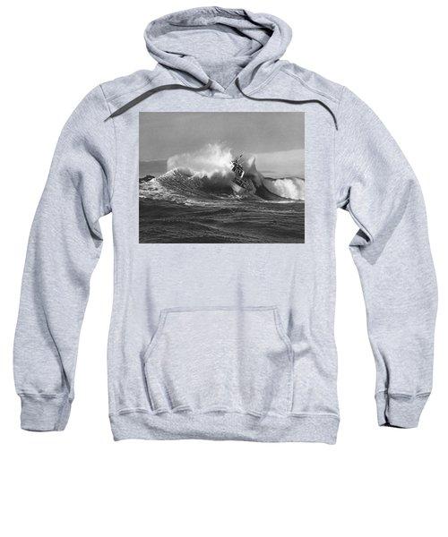 Coast Guard Surf Rescue Boat Sweatshirt