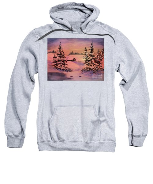 Cold Winter Sunset Sweatshirt