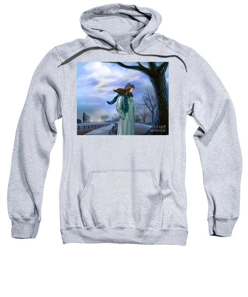 Cold Winter Warm Thoughts Sweatshirt