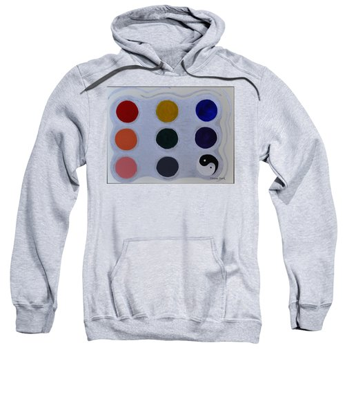 Color From The Series The Elements And Principles Of Art Sweatshirt