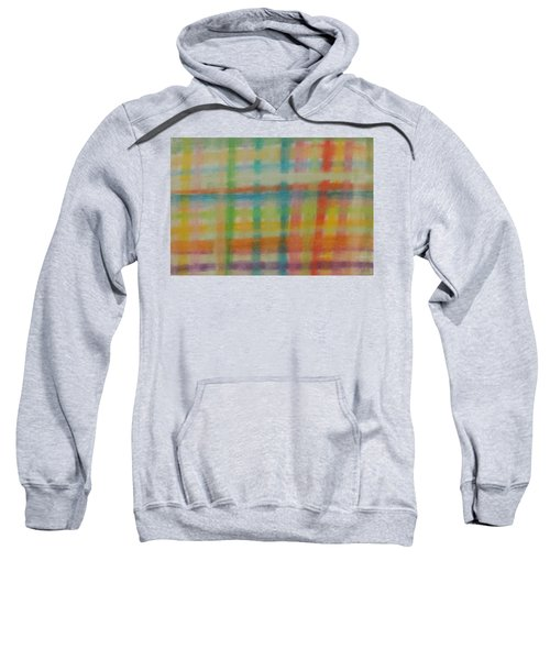 Colorful Plaid Sweatshirt