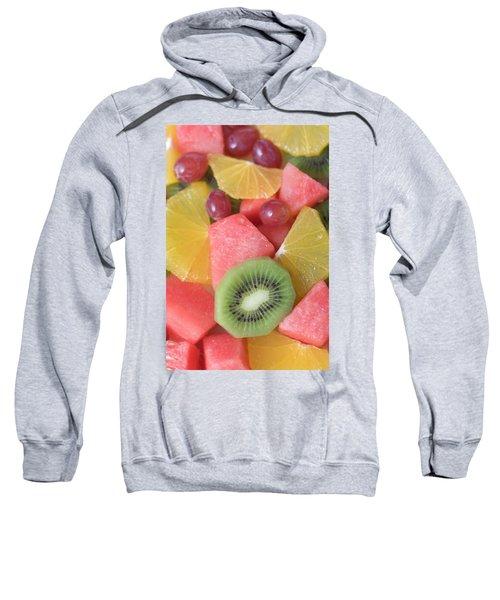 Colourful Fruit Salad (full-frame) Sweatshirt