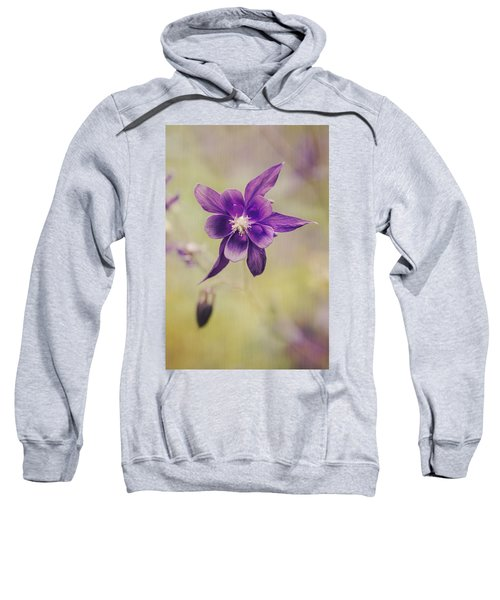 Columbine Flower Sweatshirt