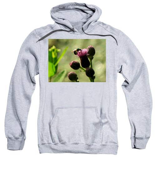 Concentrating On Pollinating Sweatshirt