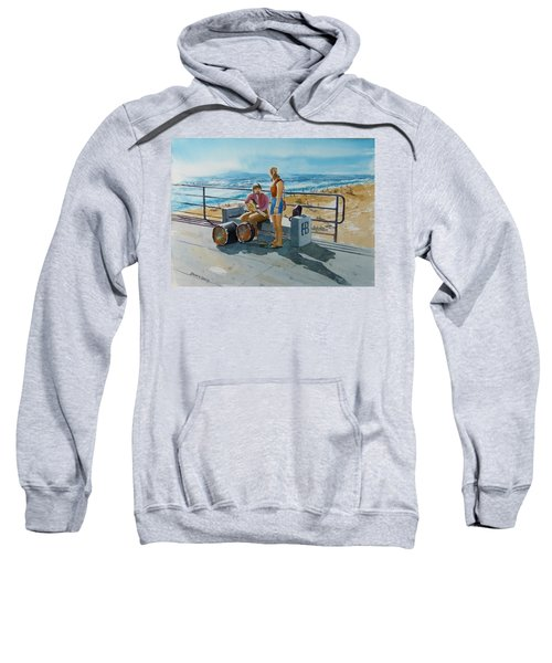 Concert In The Sun To An Audience Of One Sweatshirt